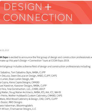 CEDIA, press, published, interior designer, bowie md, washington dc, virginia, interior designer
