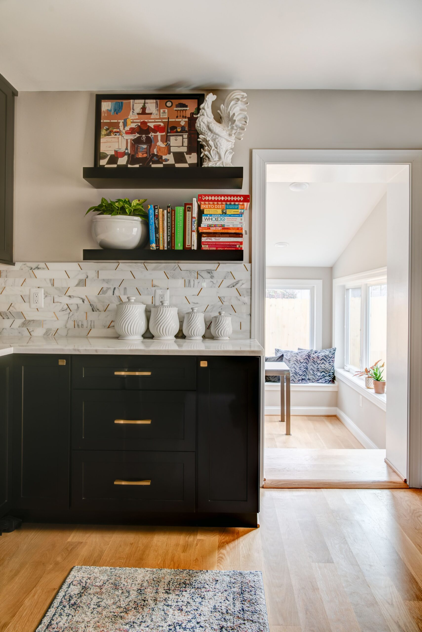 Capitol Hill Row House Breakfast Room, dmv interior designer, dc interior designer, Maryland designer, bowie designer, northern Virginia designer, #bebold
