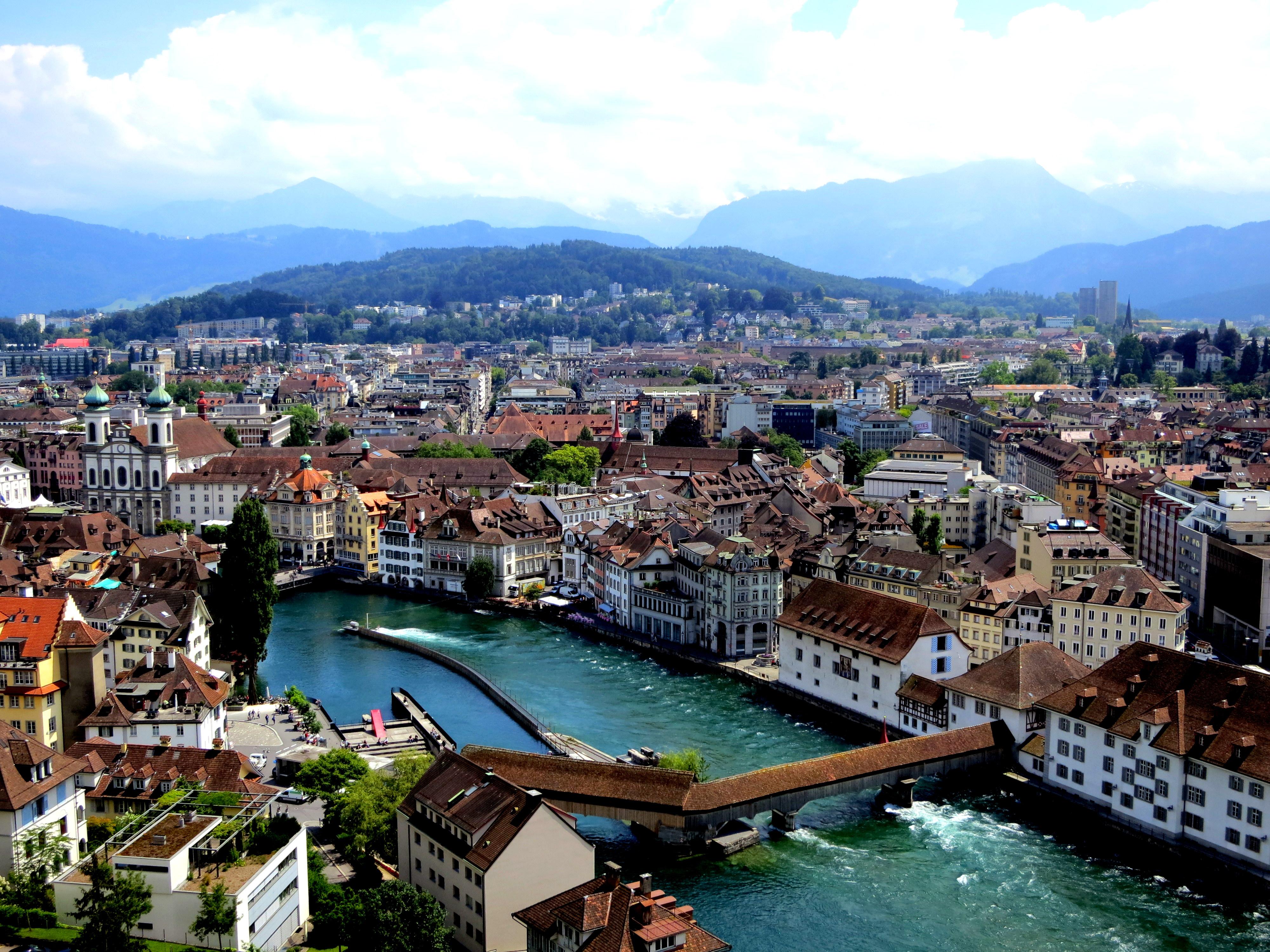 Attack of the Lovebirds in Lucerne, Switzerland - Chantae