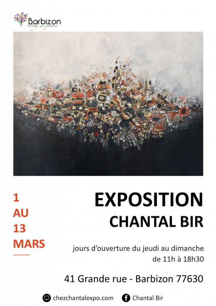 Affiche Barbizon Chantal Bir