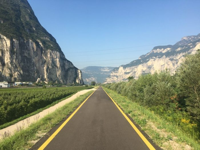 The Story of Cap 225: Bike path to Trento