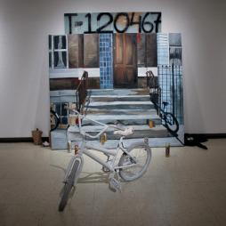 A teenage love that haven't felt no hurt yet, 2012 10'x9'x6' Mixed media installation