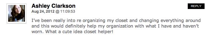 importance of an organized closet, winner, myclothinghelper