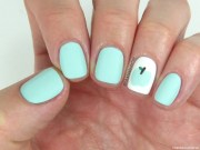 essie nail polish in mint candy