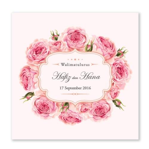 Kad Kahwin Floral 47
