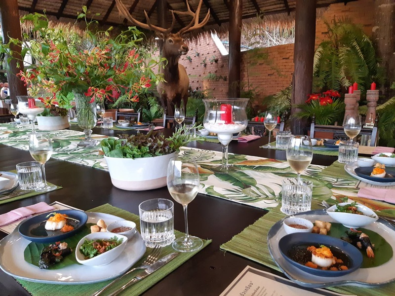 Chantra Khiri Chalet : Restaurants