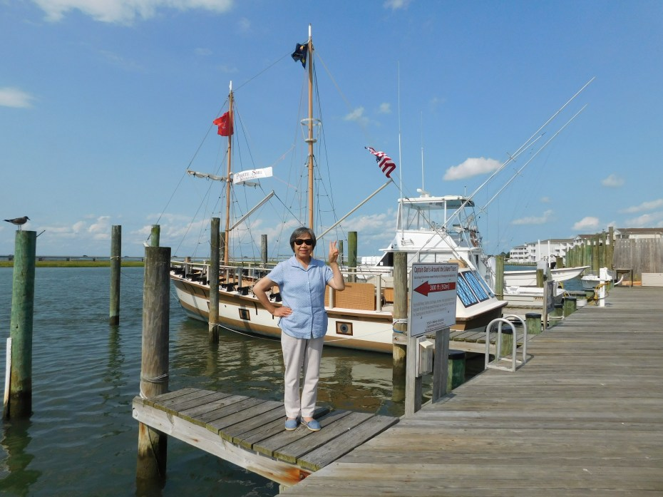 Chincoteague Island 青口提个岛海盗船