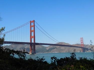 离金门大桥越来越近