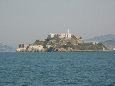 远眺小岛旧金山渔人码头海豹