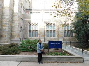 康州纽黑文耶鲁大学法学院