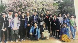 東京同學合影