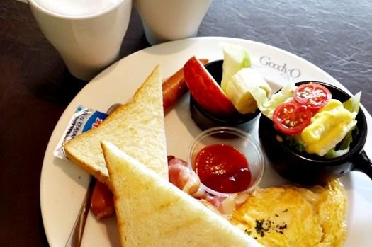 【食記】永和.四號公園旁的美味早午餐 古迪歐 Goody.O Café