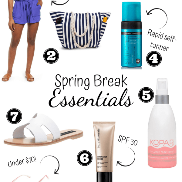 Spring Break Beach Essentials