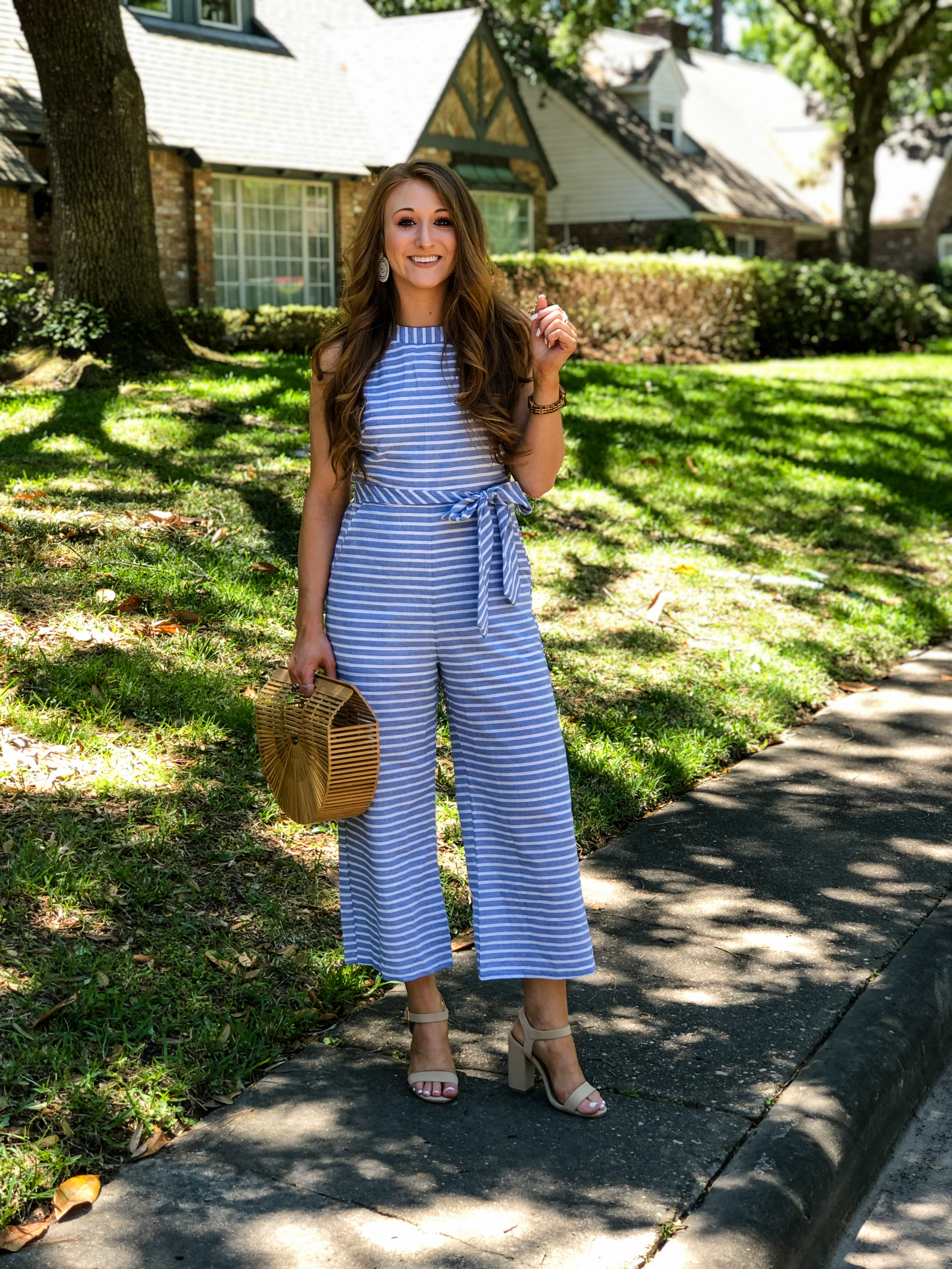 $25 Spring Jumpsuit for Work or Play | Chaos and Coffee