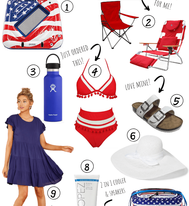 Memorial Day Beach Essentials | Chaos and Coffee