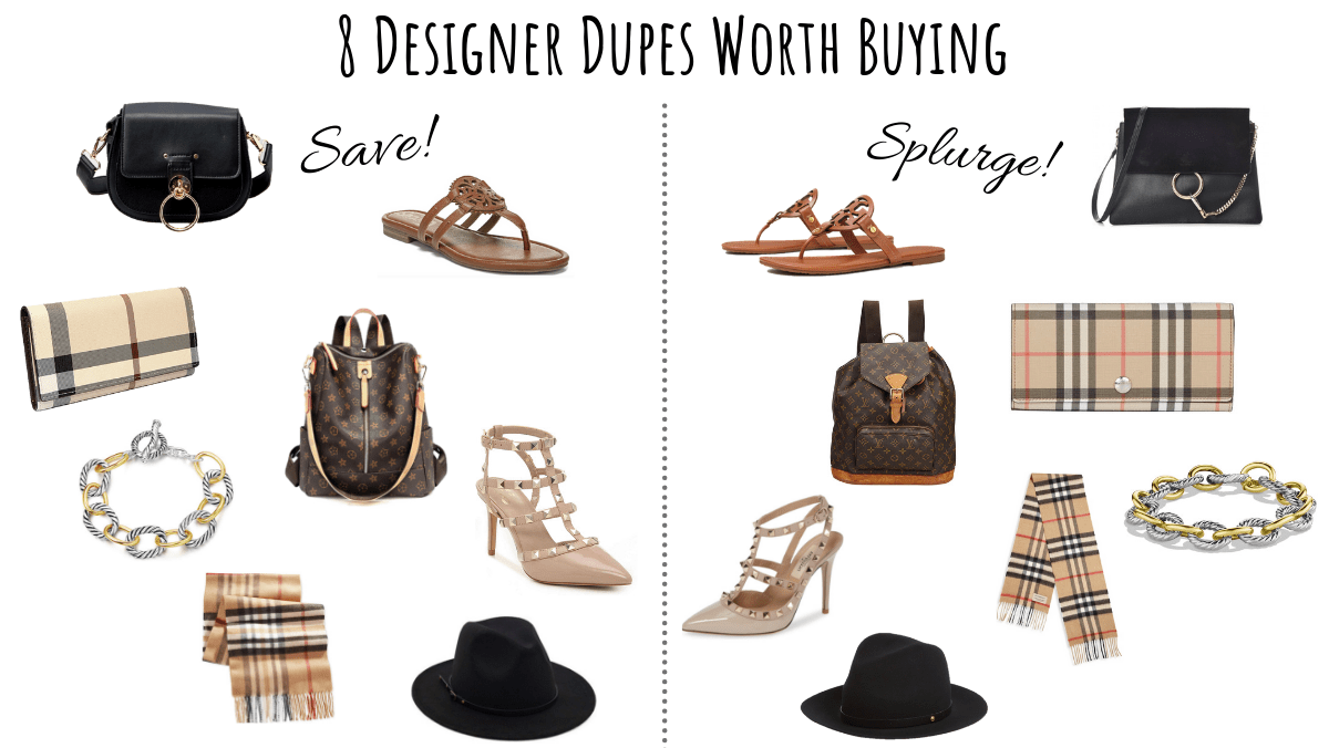 8 Designer Dupes Worth Buying | Chaos and Coffee
