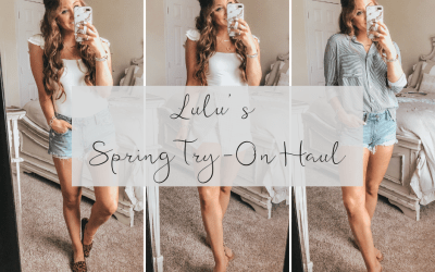 Lulu's Spring Try-On Haul | Chaos and Coffee