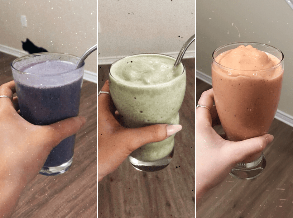 5 Healthy Smoothies: A Full Week's Worth of Recipes