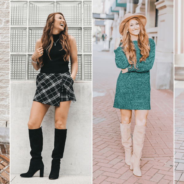 4 Ways to Style Knee-High Boots for Fall