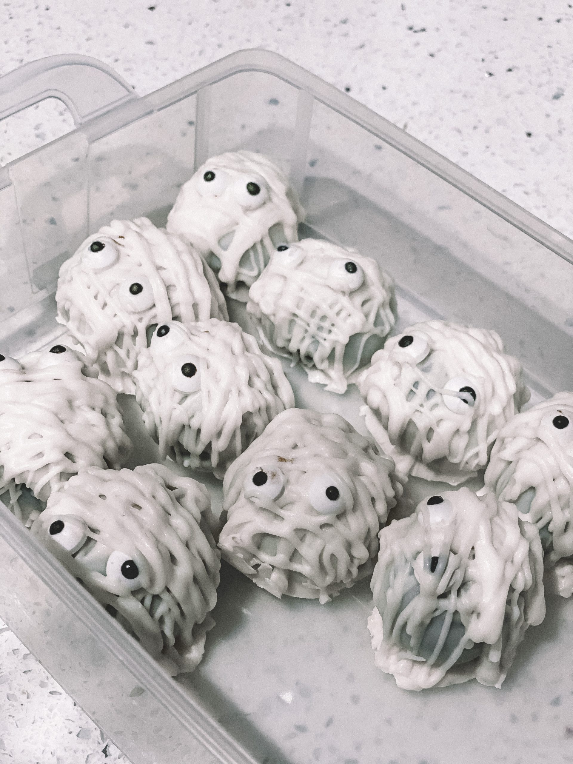 Mummy Oreo Truffles - A Spooky Halloween Treat | Chaos and Coffee