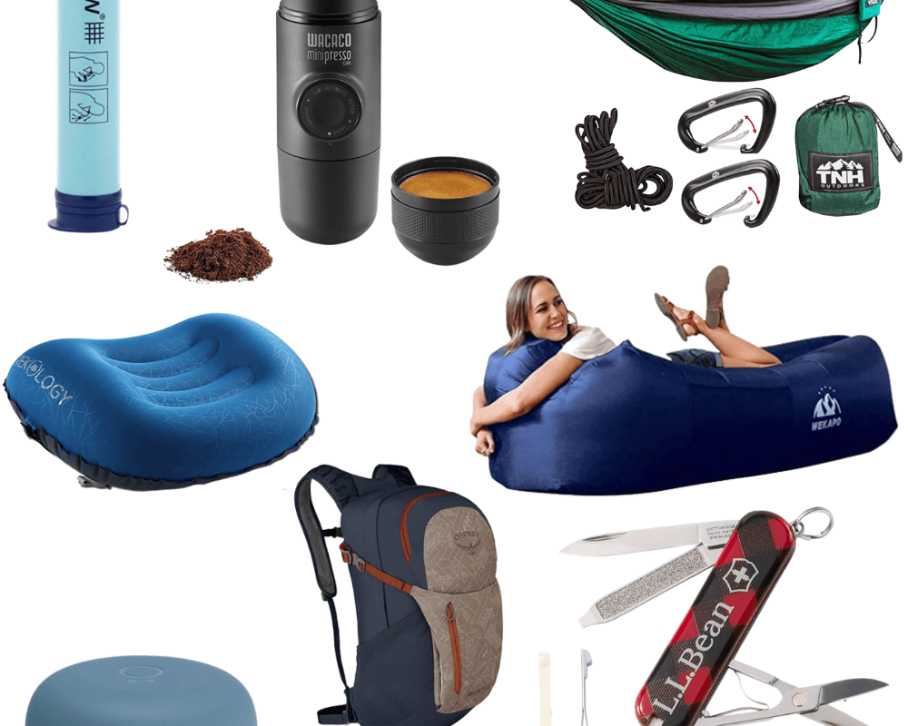 Gifts for the Outdoorsy Type | Chaos and Coffee