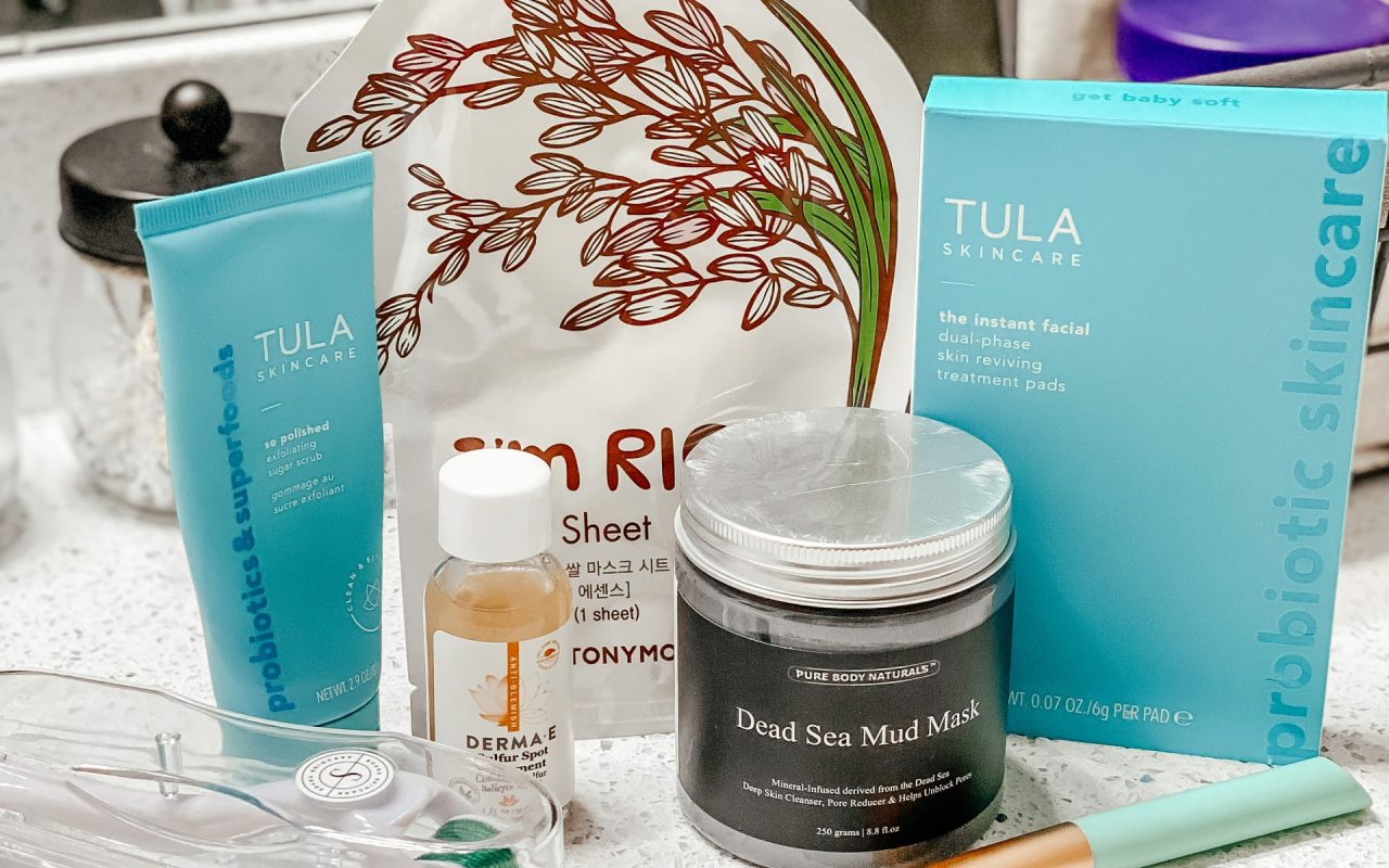 Acne skincare products