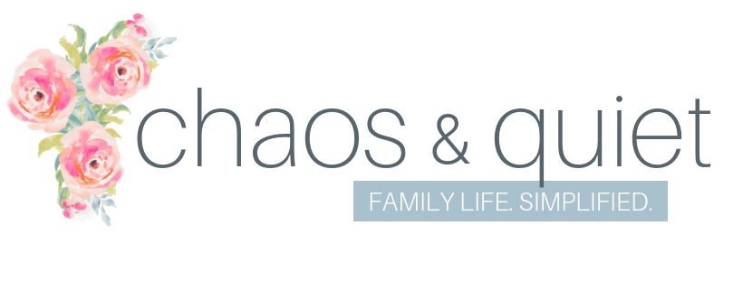 Chaos and Quiet blog header