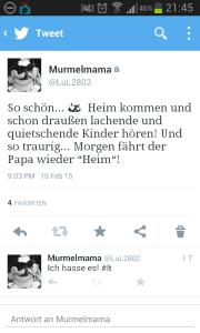 Tweet Rosenmontag...
