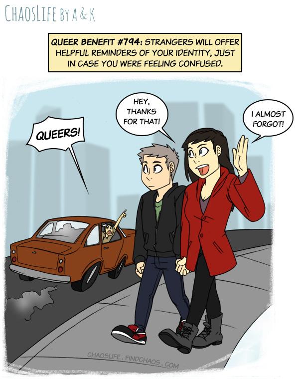 Queer Benefits