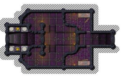 battlemap dungeon entrance fortress fantasy rpg battle temple maps gen underground crypt chamber secret shrine games garden