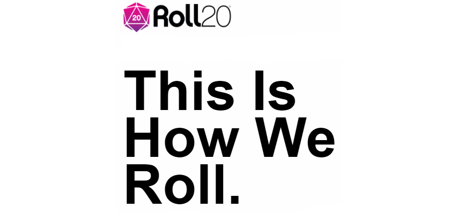 How I set up my Roll20 games