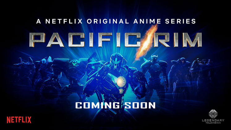 The Pacific Rim animated series will arrive on Netflix next year.