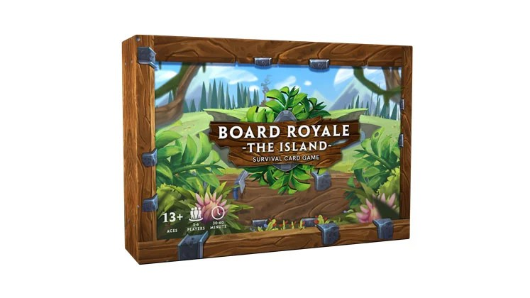 BOARD ROYALE new card game from Arvis funding on Kickstarter
