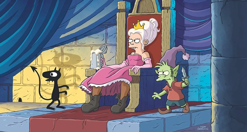 Disenchantment season 2 trailer for Matt Groening's Netflix animation