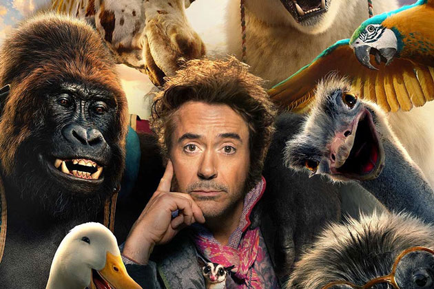 Dolittle trailer shows Robert Downey Jr. talking with the Animals