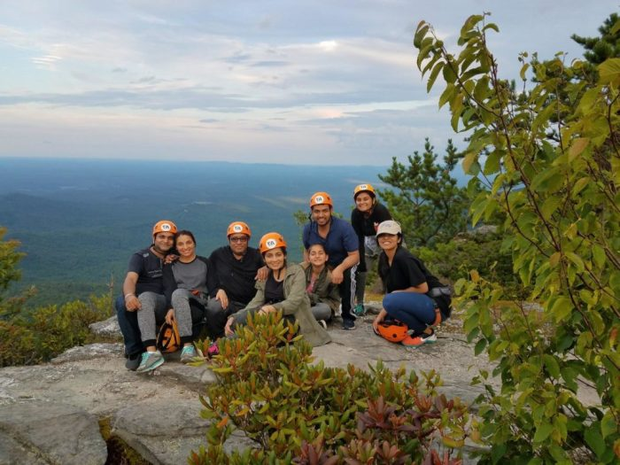 Thrifty Adventures Rock Climbing Group