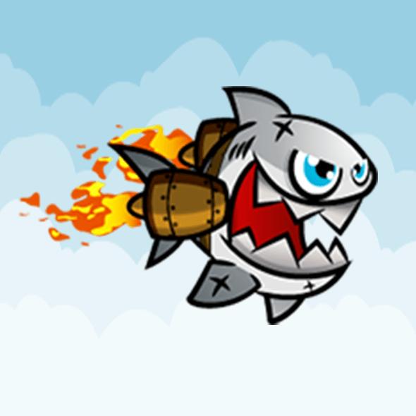 Rocket Shark IOS Android