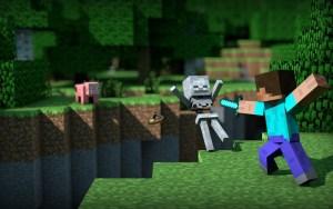 minecraft skeleton kill