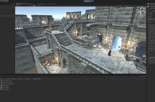 DunGen scene Multi Level Dungeons