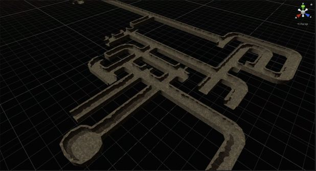 procedural rogue-like dungeon