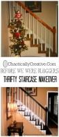 Budget Staircase Redo   Chaotically Creative
