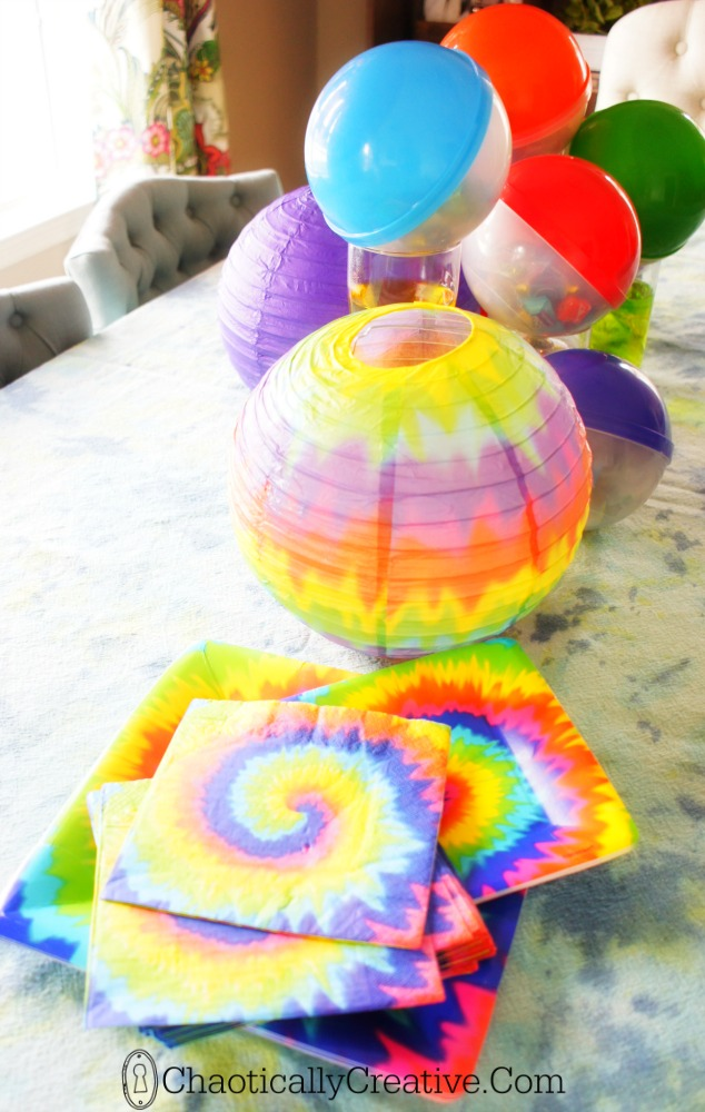 Tie Dye Party Chaotically Creative
