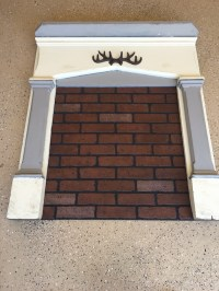 Fake Brick Fireplace Insert | Droughtrelief.org