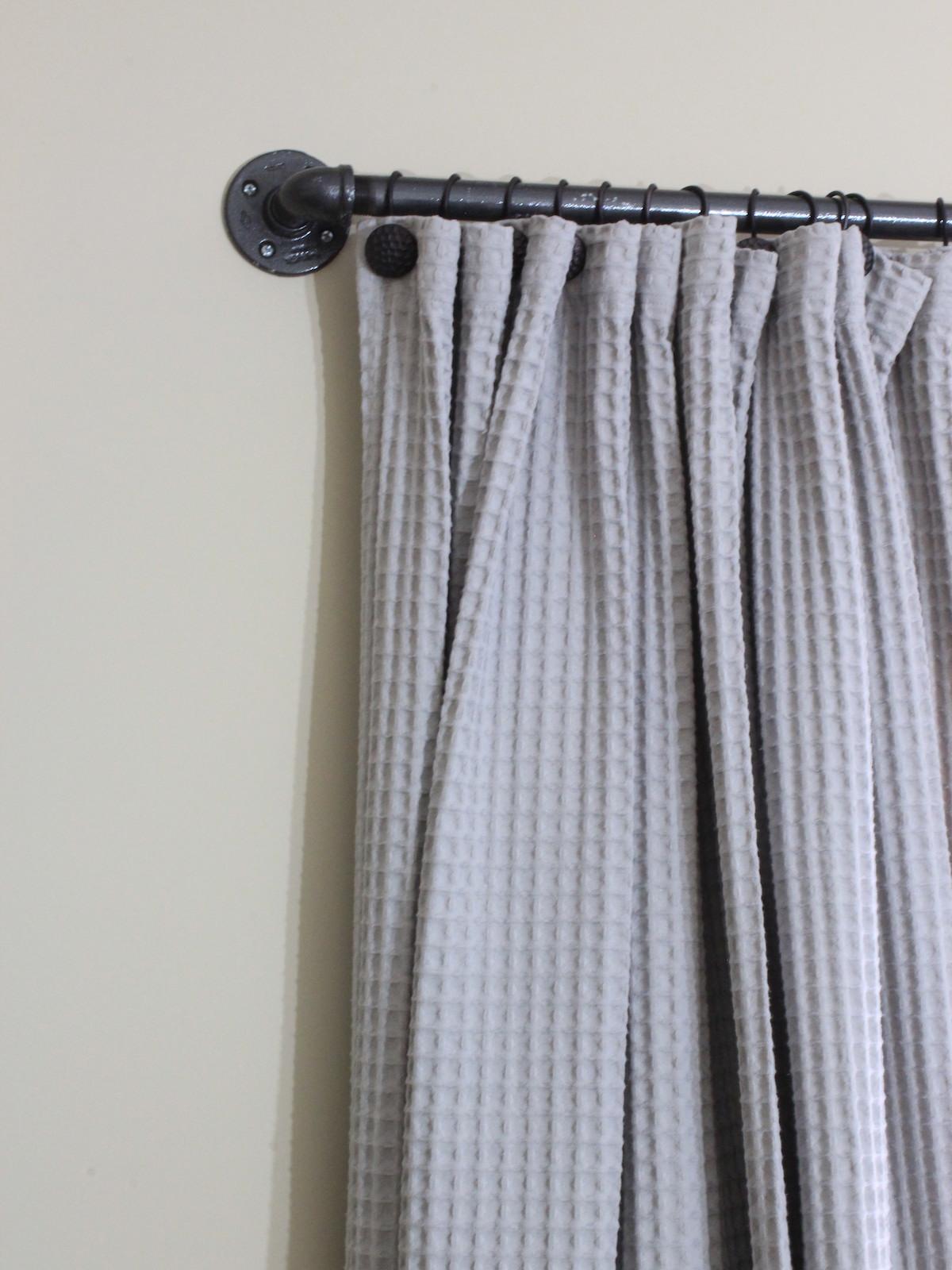 Easy DIY Curtain Rods  Chaotically Creative