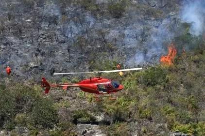 Focos de incêndio na Chapada Diamantina Na foto: Foto:Alberto Coutinho:AGECOM