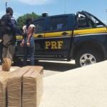 PRF prende em Seabra uma jovem transportando 5 kg de crack em um ônibus
