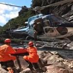Corpo de turista francês é resgatado na Cachoeira da Fumaça