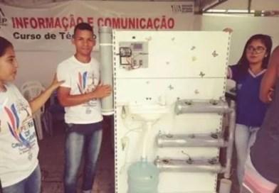 Estudantes de Ipirá desenvolvem sistema de irrigação automática inteligente