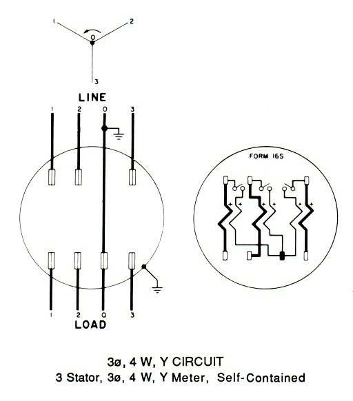 4 Jaw Meter Wiring Diagram
