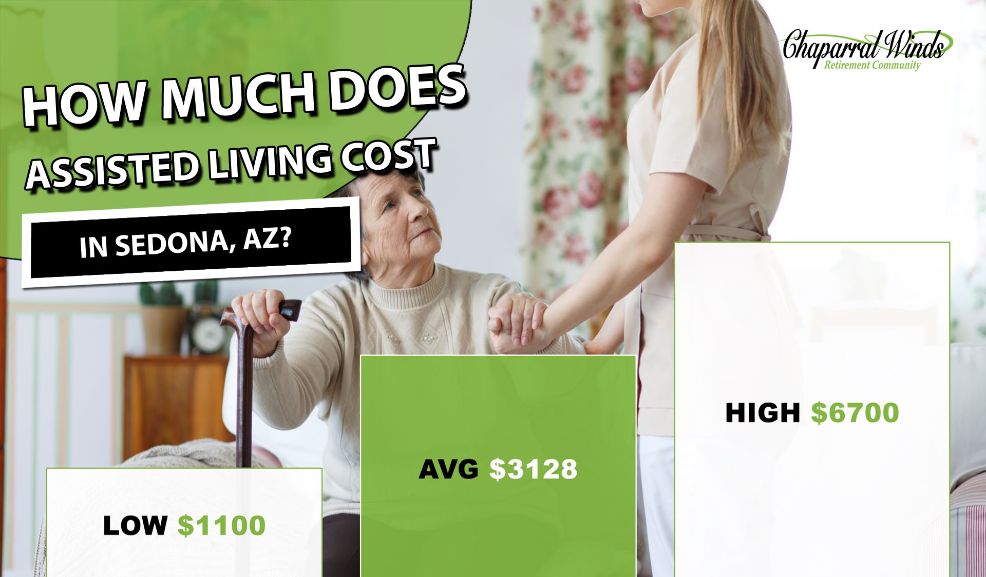 Assisted Living Cost Sedona. AZ   2019 Average Prices - CWRC